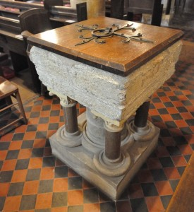 Purbeck Marble Font