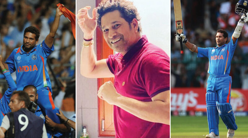 Sachin Tendulkar has won many matches to India through his match-winning innings. All of his batting are convincing these days, due to the lock-down, all are staying in their homes and helping to fight the corona virus.