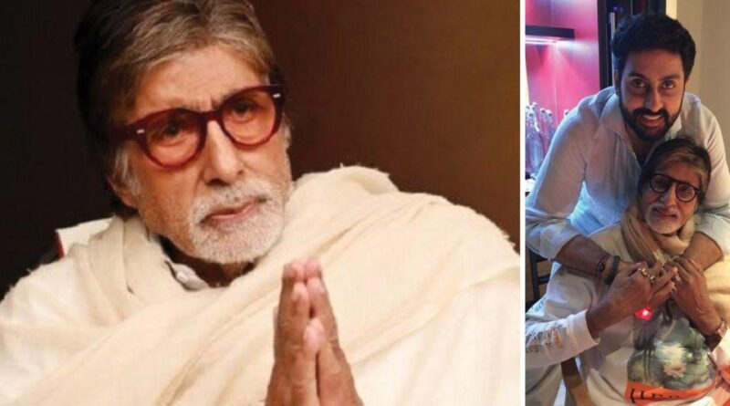Bollywood megastar Amitabh Bachchan has tested positive for Coronavirus