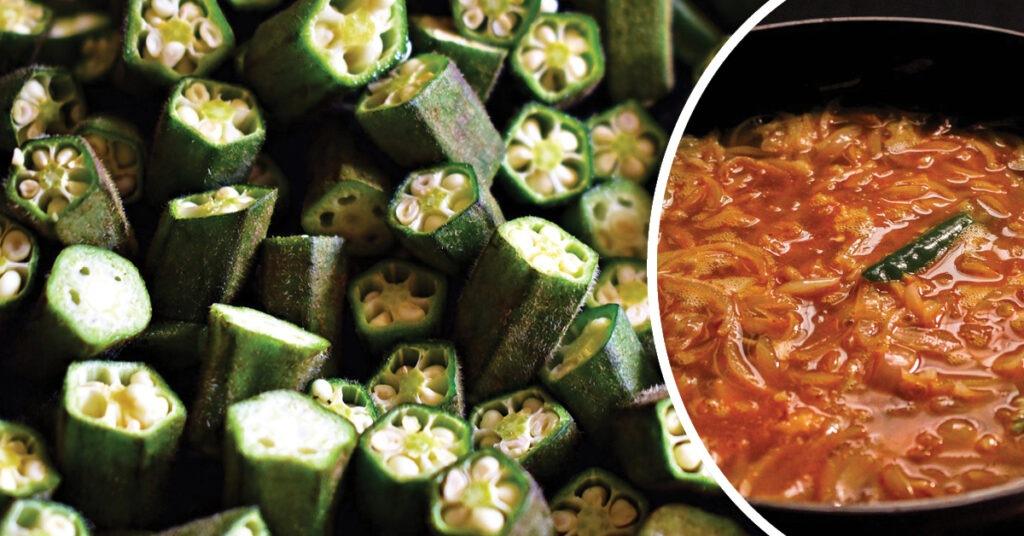 punjabi bhindi masala recipe in hindi, punjabi bhindi masala in hindi,