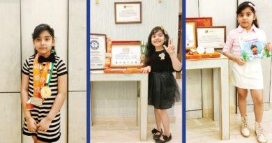 Abhijita Gupta, world's youngest author, International Book of Records