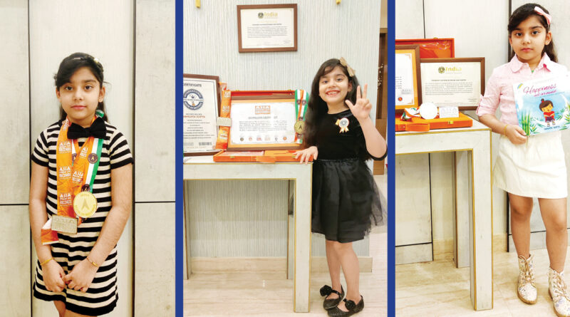 Abhijita Gupta, world's youngest author, International Book of Records