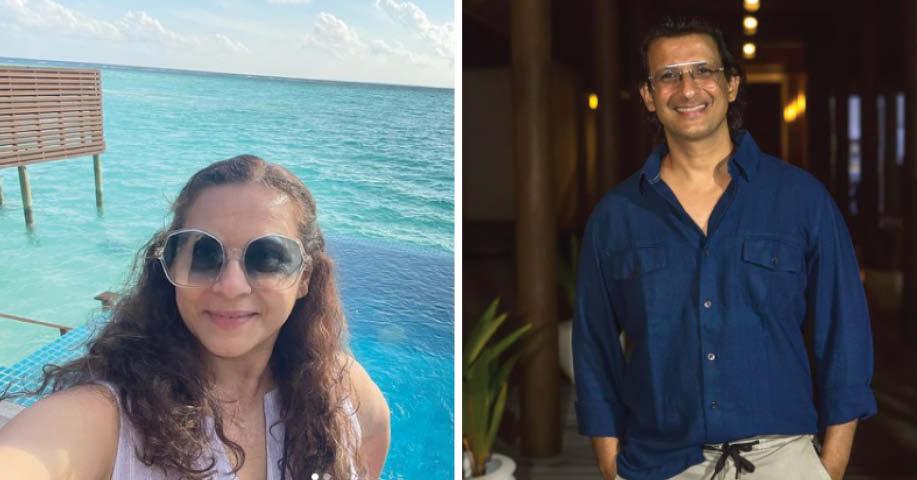 शरमन और मानसी जोशी रॉय