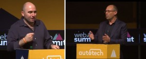 My Debate with George Arison, CEO of Shift, at Web Summit in Lisbon