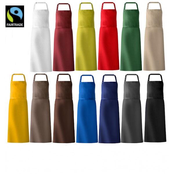 Fairtrade stof forklæde