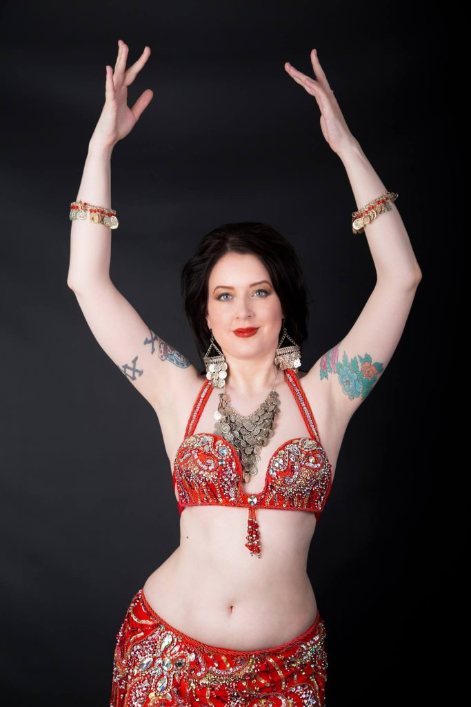 Victoria professional belly dancer available for hire for events and parties