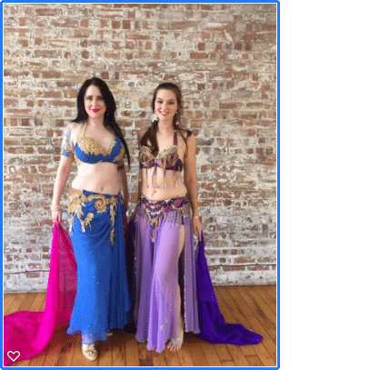 london belly dancers