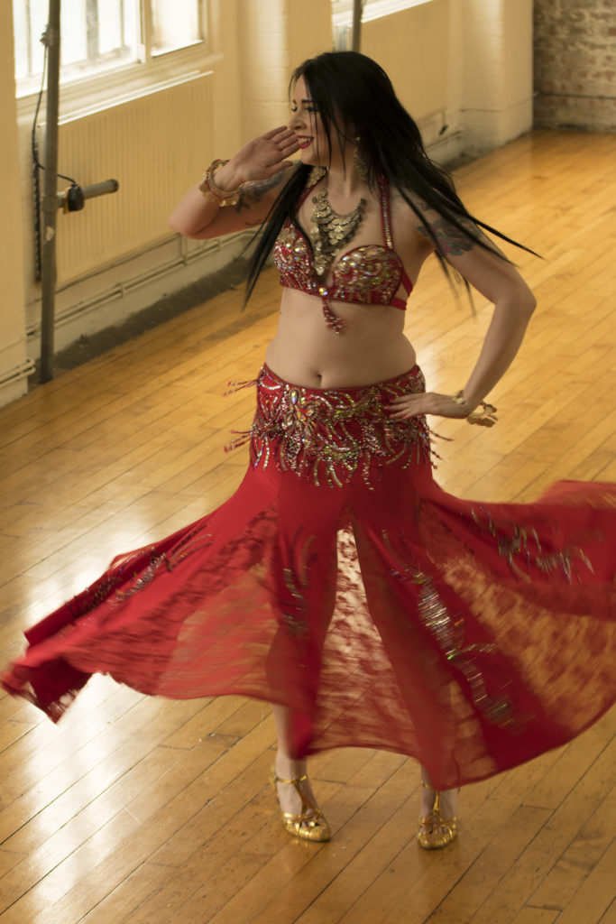 belly dancer london dance studio