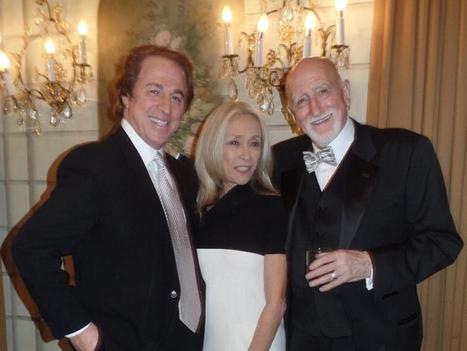 The Friars Club Pays Tribute To Their Long-Time Abbott–Yeah, That Ol' Blue-Eyed Guy–At The Pierre Hotel!
