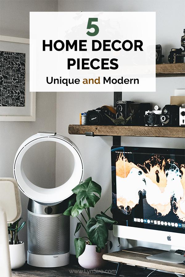 5 Home Decor Pieces Unique and Modern