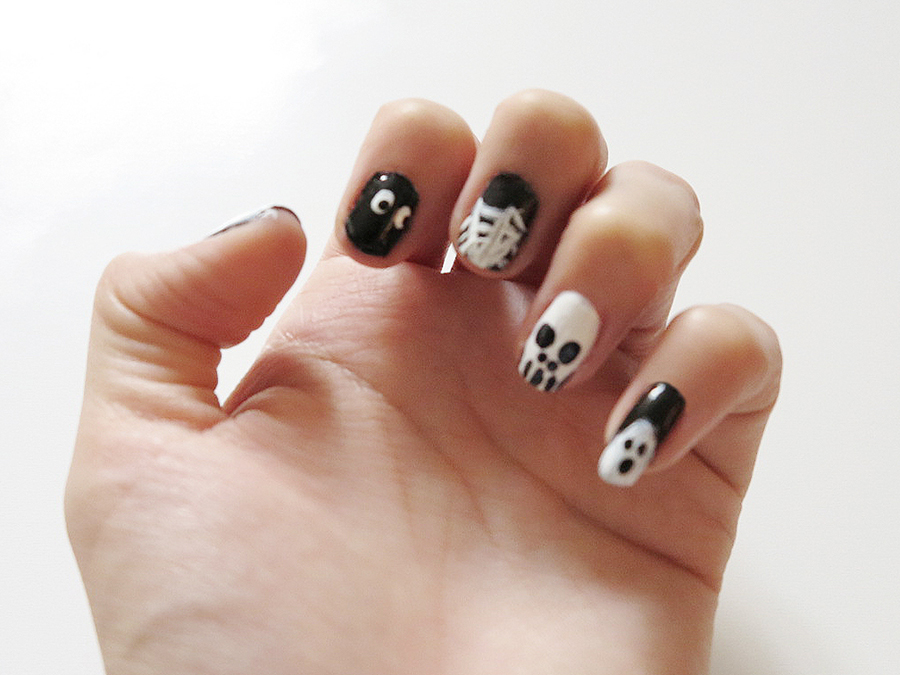 5 Halloween Nail Art Designs That Are Spooky