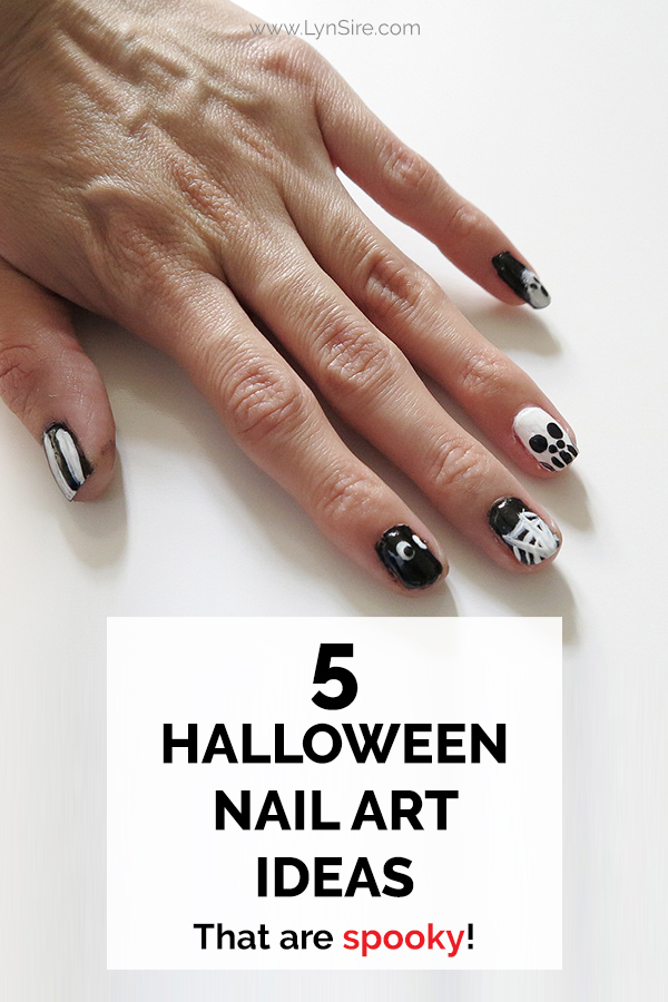 5 Halloween Nail Art Ideas That Are Spooky