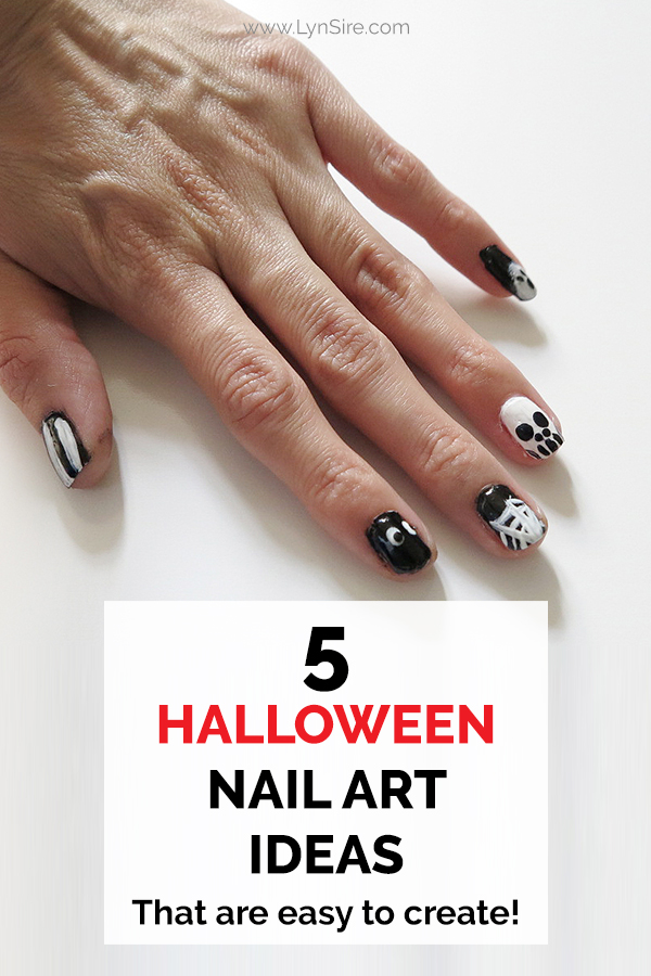 5 Halloween Nail Art Ideas That are easy to create