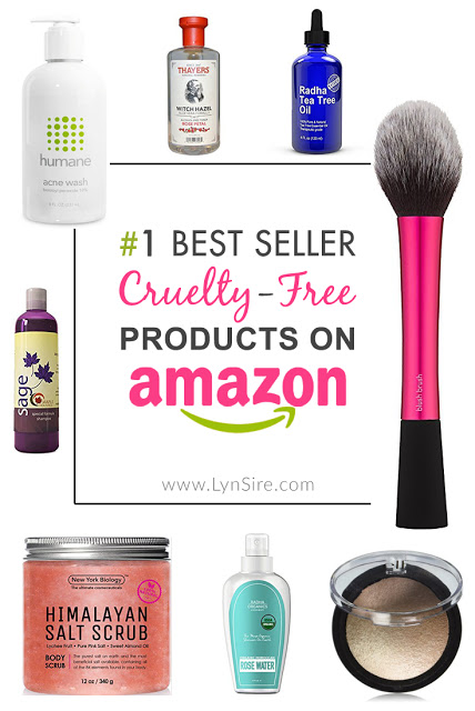 30 Top Best Seller Cruelty Free Products You Can Buy on Amazon