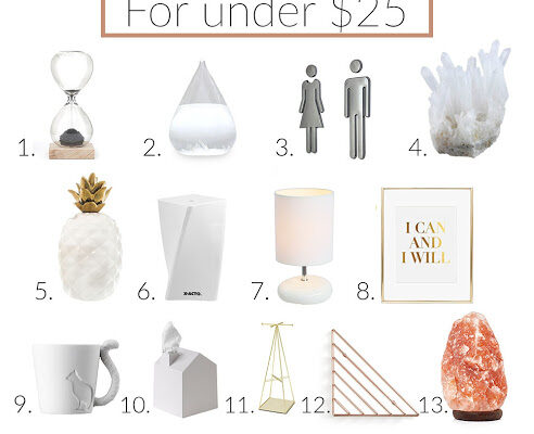 15 Modern Decor FInds on Amazon for Under $25