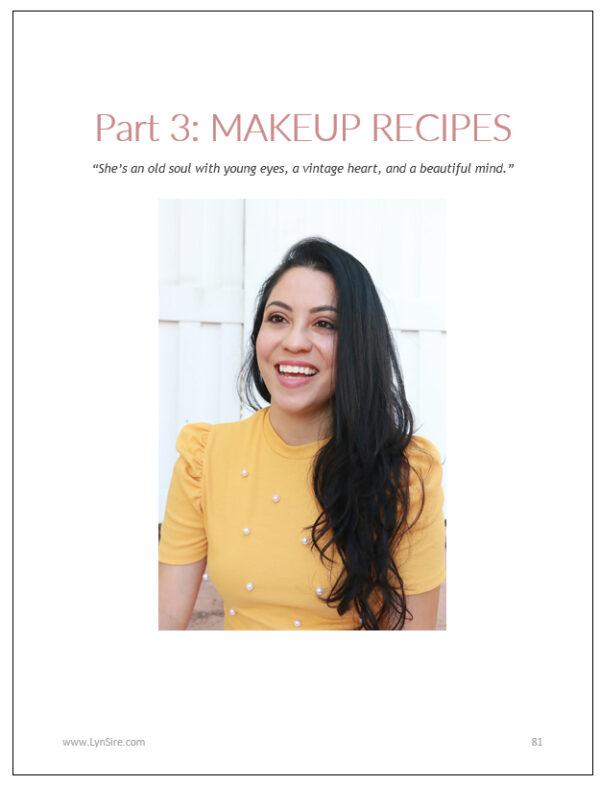 Vegan eBook Kind Beauty Care - Part 3