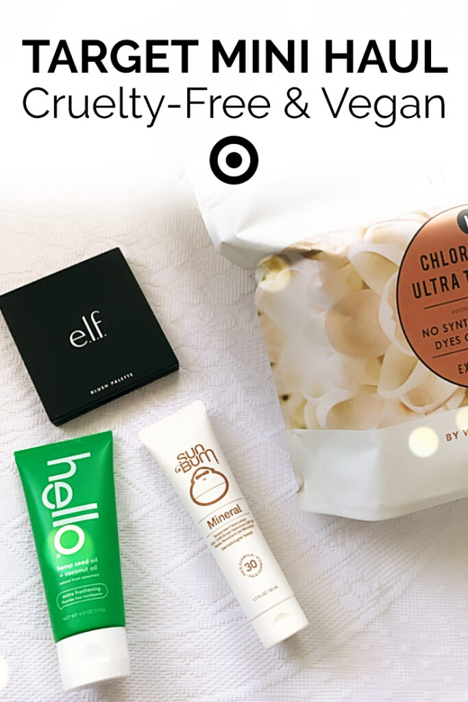 Target Mini Haul Cruelty Free Vegan Beauty Care