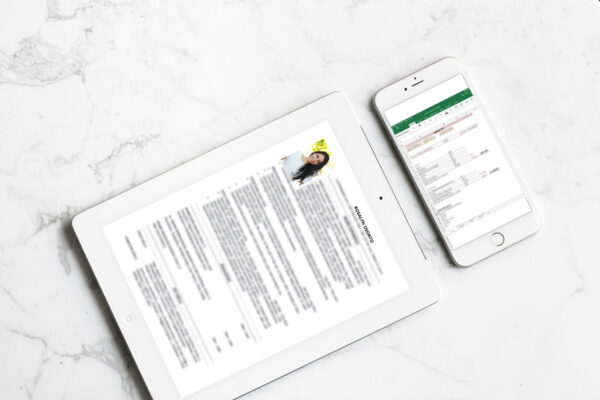 Template Bundle - Job Interview and Personal Money Manage