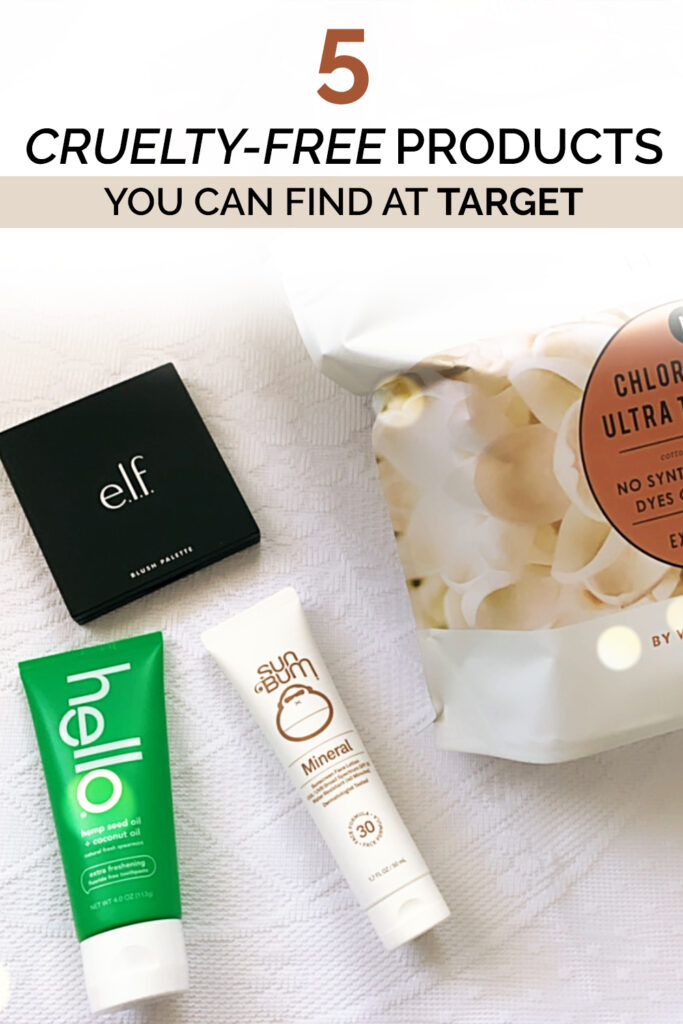 5 Cruelty Free Products You Can Find at Target
