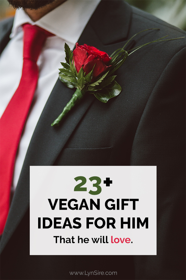 Vegan Gift Ideas for Him That he will love