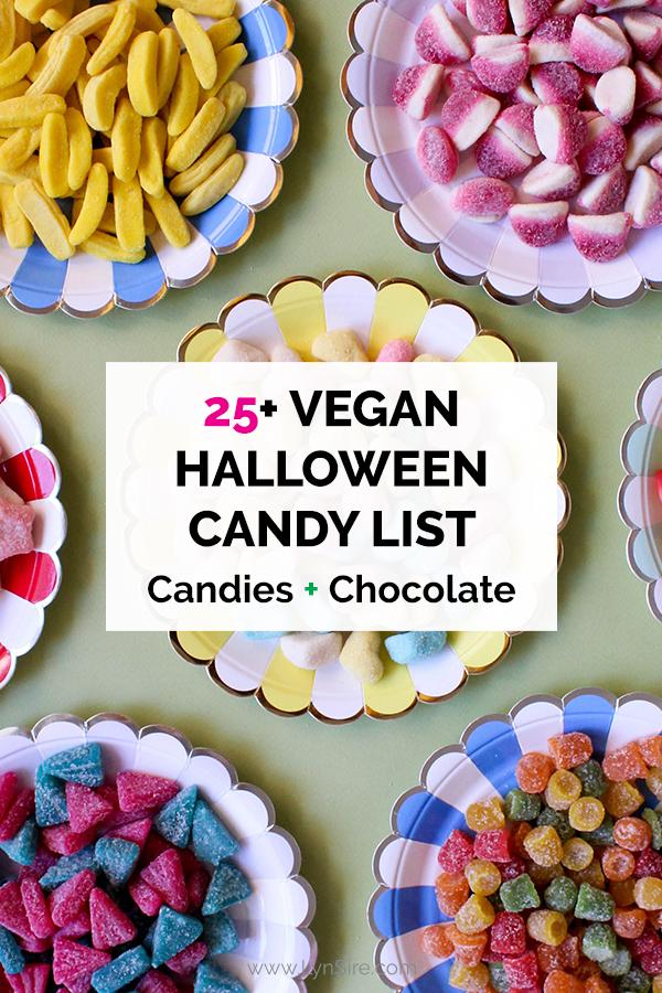25 Vegan Halloween Candy List Candies Chocolate