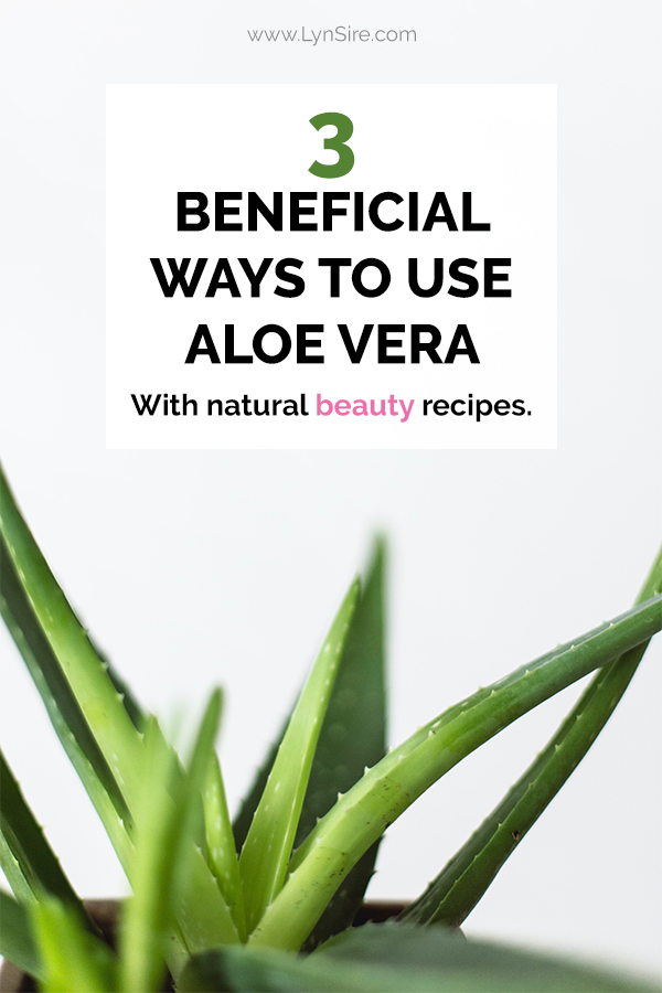 3 Beneficial ways to use aloe vera with natural beauty recipes