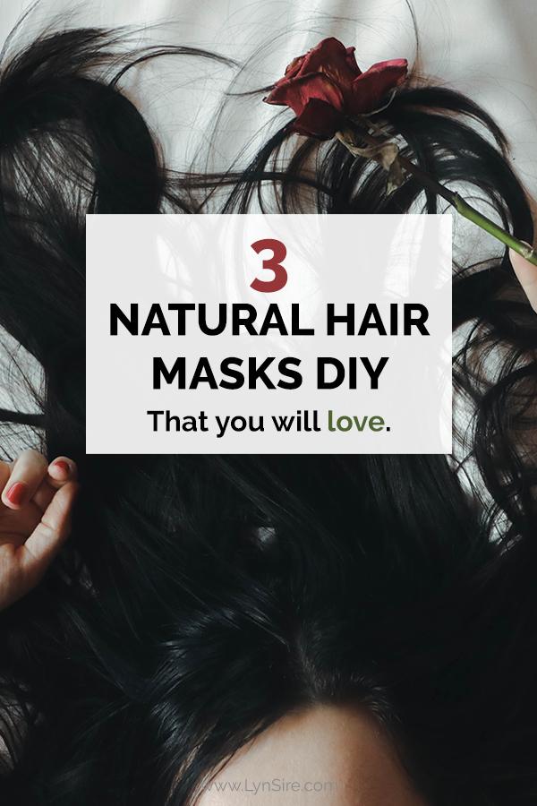 3 Natural hair masks DIY that you will love