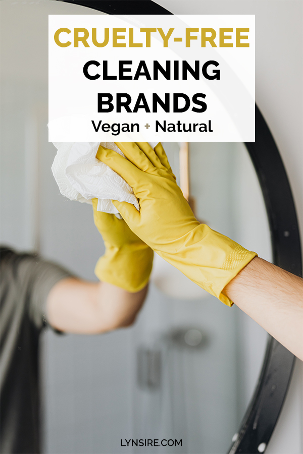 Cruelty free cleaning brands vegan natural