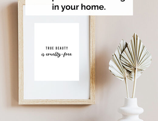 14 Cruelty free quotes printables wall art