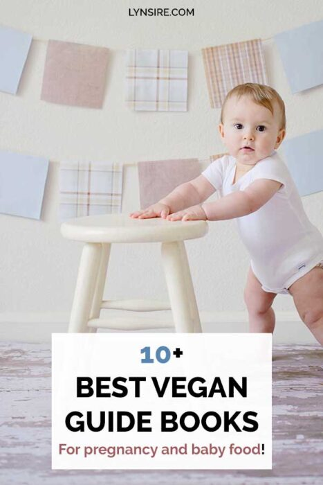 Best vegan guide books for pregnancy and baby food. #vegan #veganpregnancy #veganbabyfood #pregnancy #babyfood