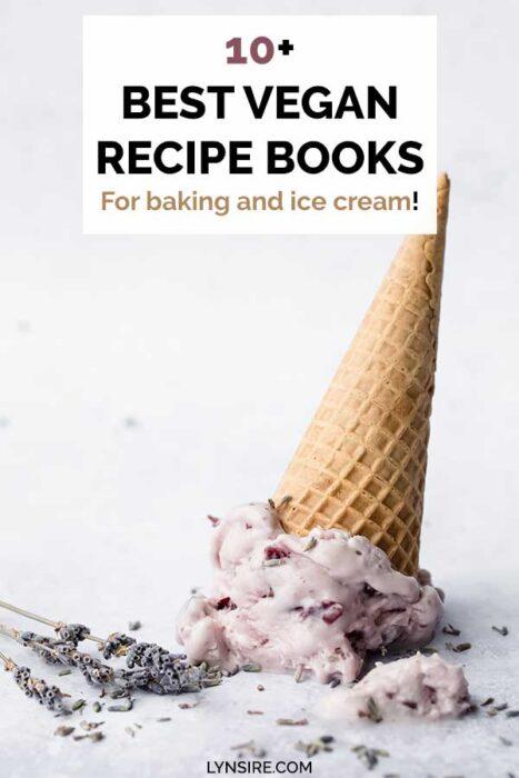 Best vegan recipe books for baking ice cream