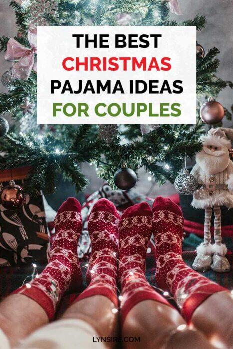 Christmas pajama ideas couples