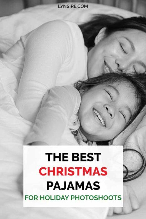 Christmas pajamas holiday photoshoots