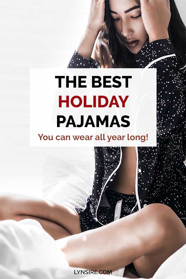 Holiday pajamas pictures party
