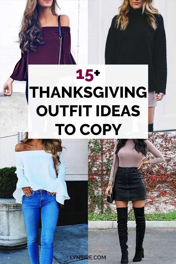 Thanksgiving Day Women Outfit Ideas To Copy
