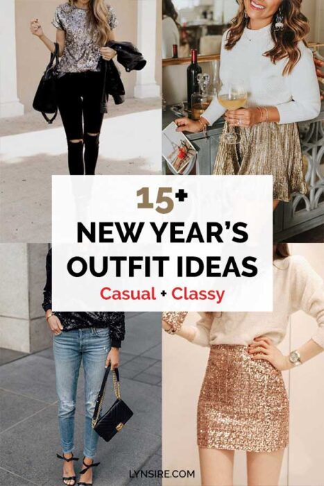 New years outfit ideas casual classy