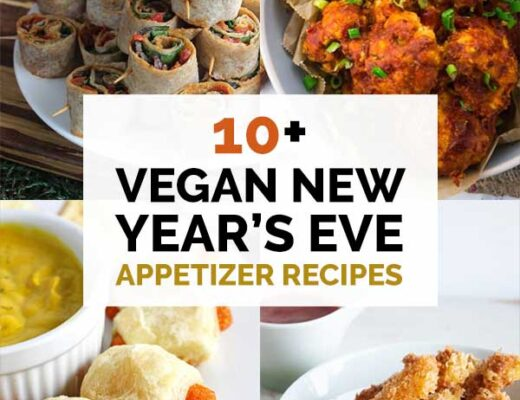 Vegan new years eve appetizer recipes