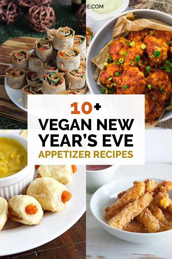Vegan new years eve appetizer recipes