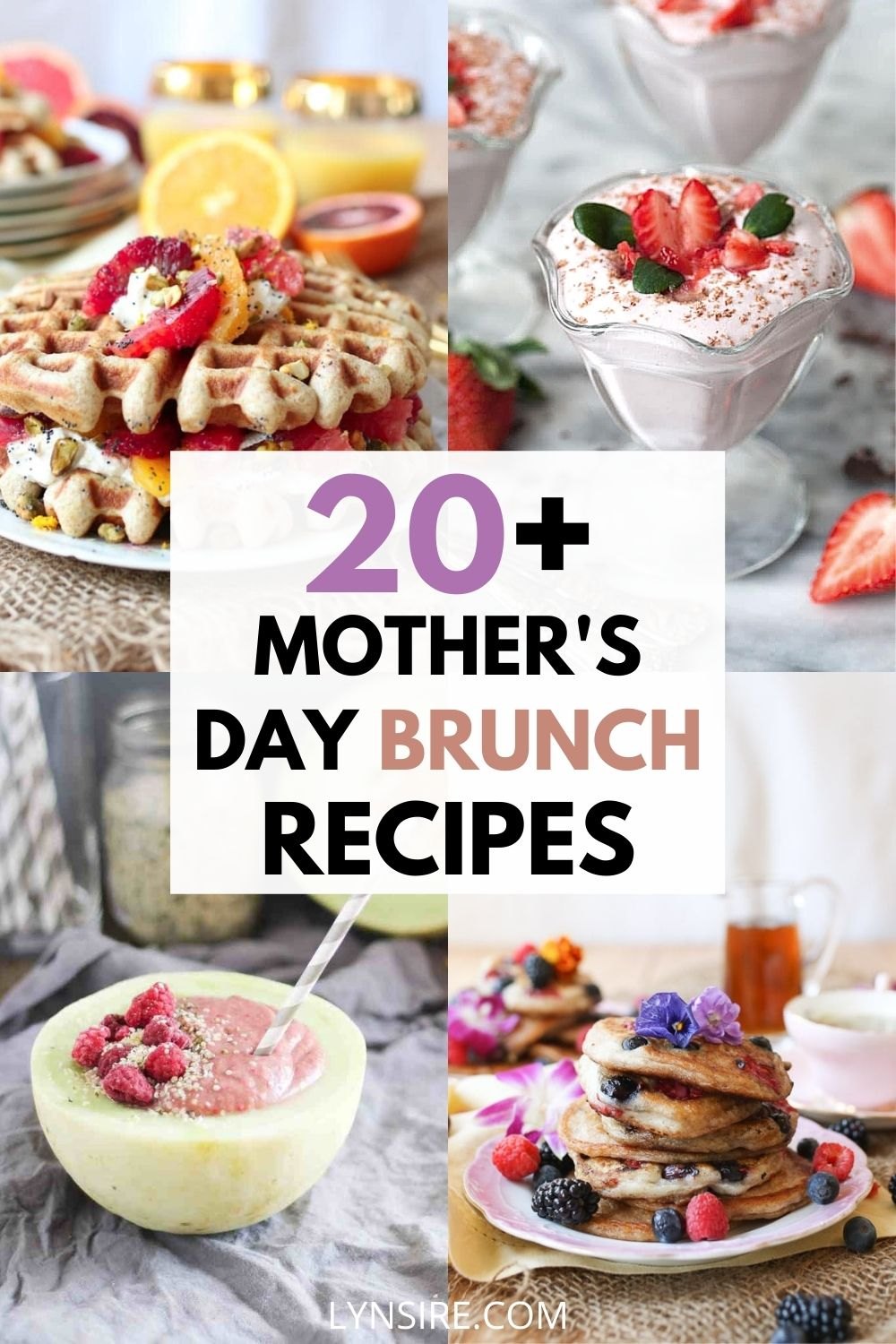 Mothers Day brunch recipes