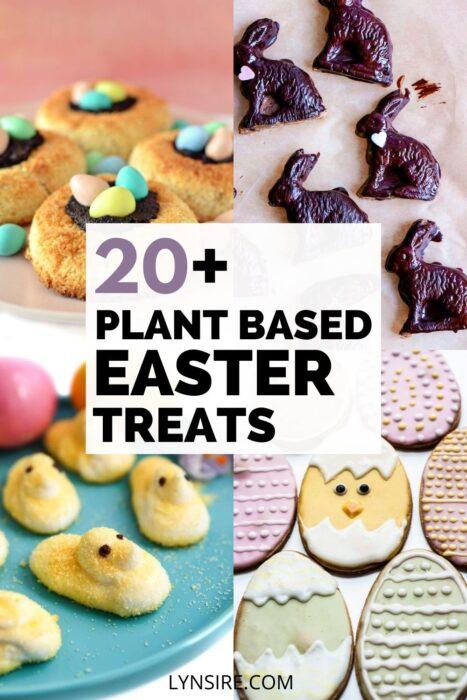Plant based Easter desserts