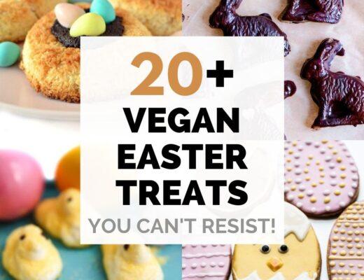 Vegan Easter desserts