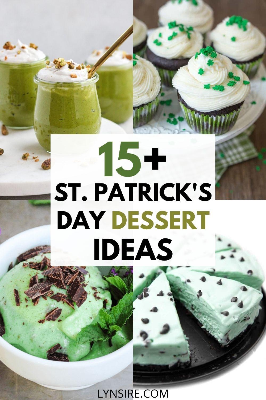 St Patrick's Day dessert ideas