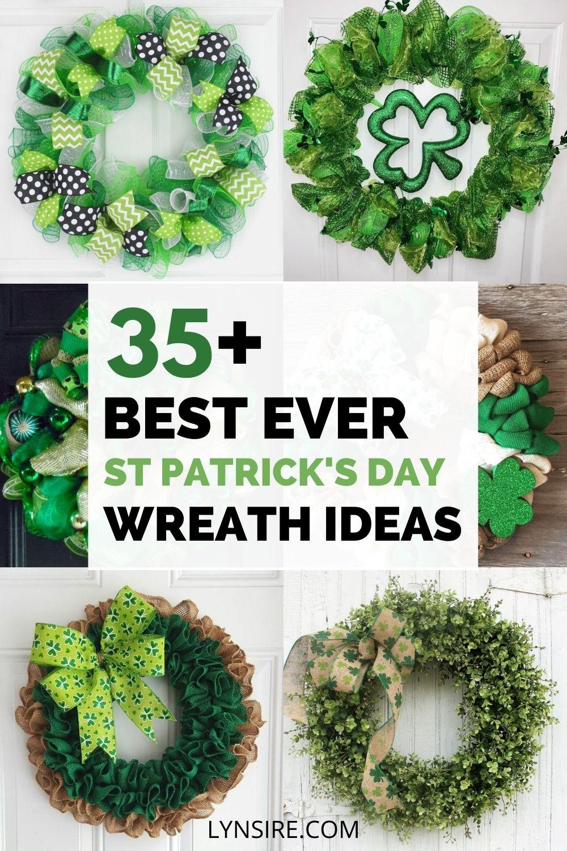 St Patrick's Day wreath ideas