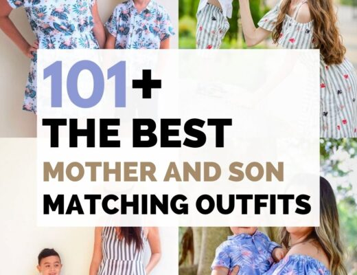 Mother and son outfits matching