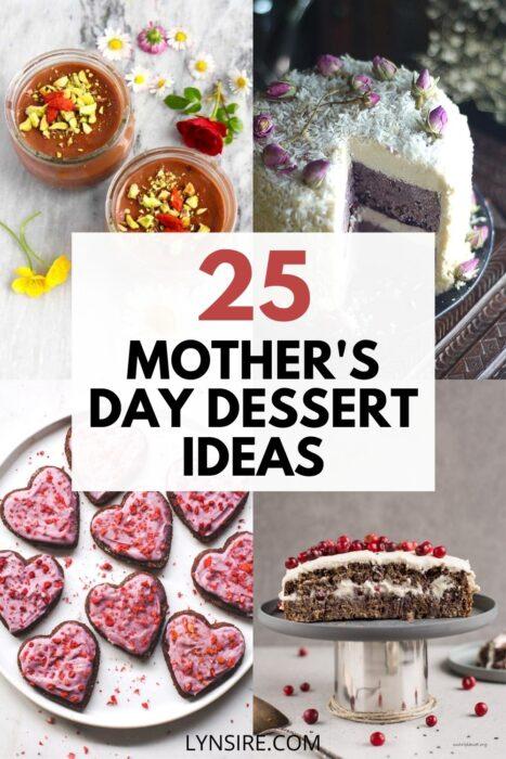 Mothers day dessert ideas