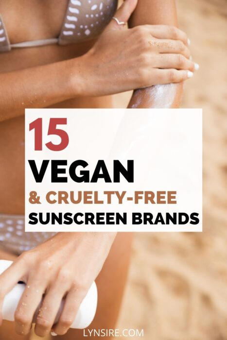 Vegan cruelty free sunscreen