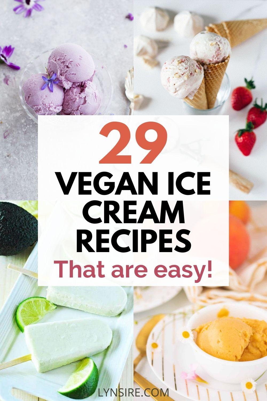 Vegan ice cream recipe easy