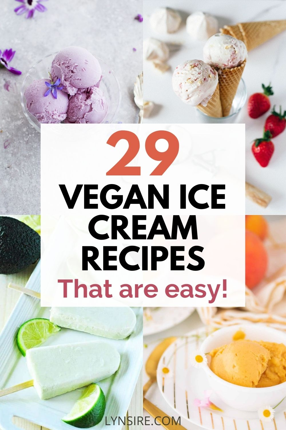 Vegan ice cream recipe easy