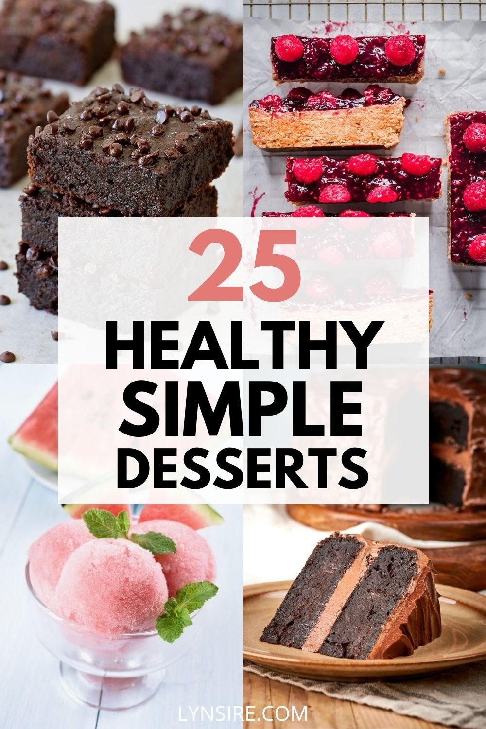 Healthy simple desserts