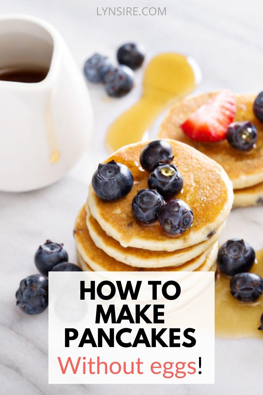 How to make vegan pancakes